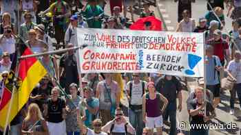 Demo gegen Corona-Beschränkungen in Dortmund: 2800 Teilnehmer - wa.de