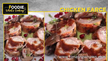 French Chicken Farce with Veloute & Port Wine Jus | Gourmet French Menu | Chicken Mousse - Times Now