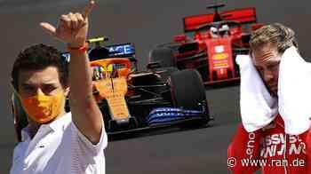 Formel 1: Lando Norris trollt Sebastian Vettel und Ferrari live auf Twitch - RAN