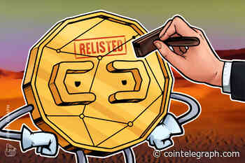 Crypto OG HempCoin Relisted by Bittrex After Year in the Wilderness - Cointelegraph