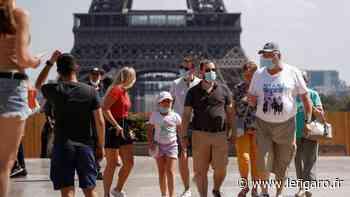 À Paris, tour de chauffe pour la nouvelle obligation du port du masque en extérieur - Le Figaro