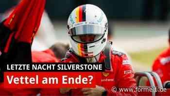 Letzte Nacht Silverstone: Vettel-Kritik an Ferrari