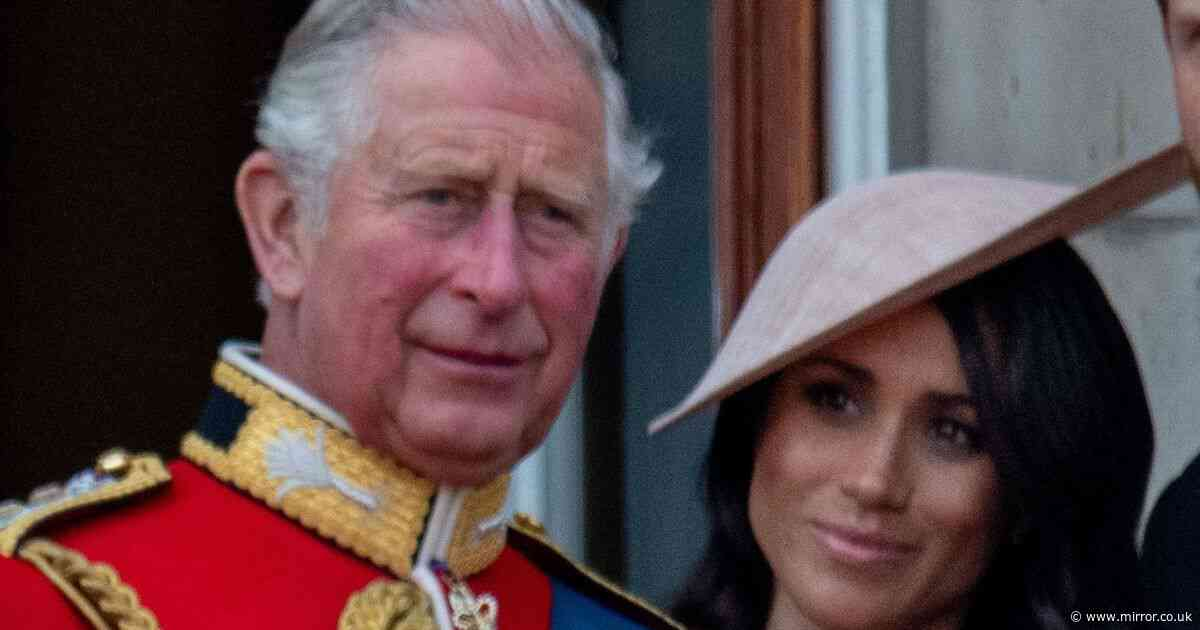 Meghan Markle saw Charles as 'second dad' who took shine to 'sassy ' Duchess
