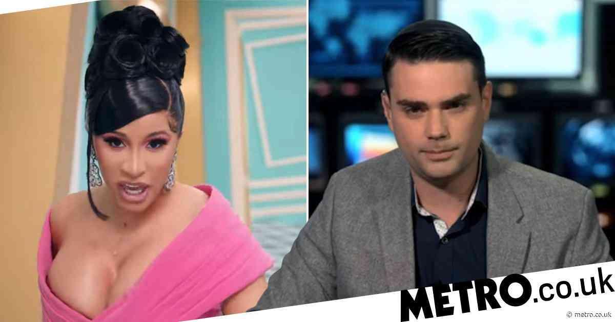 Cardi B roasts conservative pundit Ben Shapiro as he denounces WAP's 'vulgar' lyrics