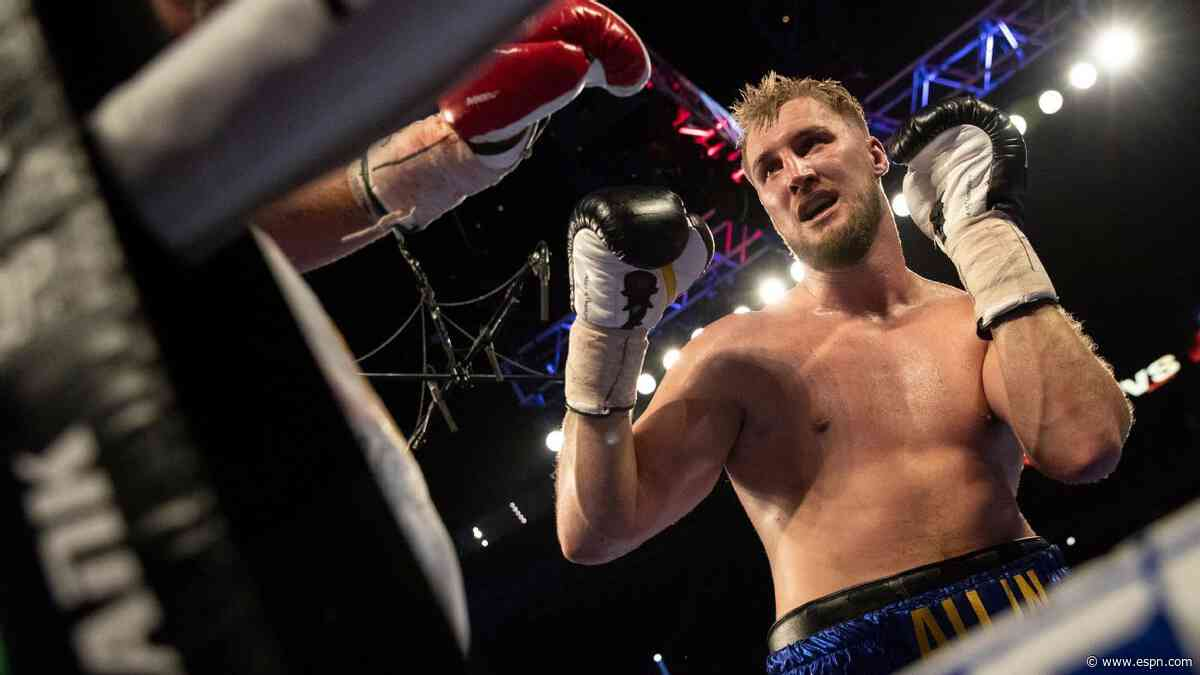 From bloodying Tyson Fury to fighting COVID-19, Otto Wallin reflects on 11 turbulent months