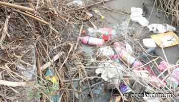 Tapan con basura acequias en Allende [Coahuila] - 10/08/2020 - Periódico Zócalo