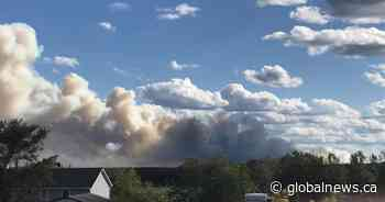 Red Lake residents ordered to evacuate area as forest fire burns nearby