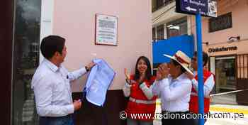 Inauguran calles de Cajabamba reconstruidas con sistemas de drenaje pluvial - Radio Nacional del Perú