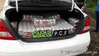 Ticos decomisan gran cantidad de licor de contrabando cerca a Río Sereno - Crítica