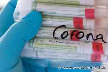 Zahl der aktuellen Corona-Fälle sinkt - Westfalen-Blatt