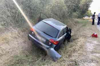 B8 bei Waldbüttelbrunn: Auto landet im Straßengraben - Fahrer (81) verstorben