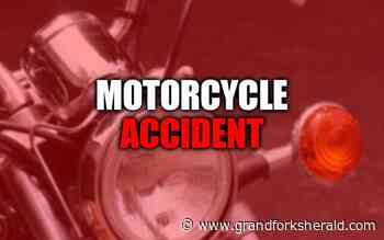 Grand Forks motorcyclist injured after being struck by car Monday night - Grand Forks Herald