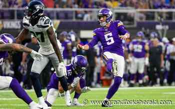 Vikings' Dan Bailey: kicking without crowd noise would be 'weird' - Grand Forks Herald