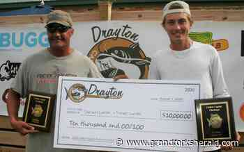 Grand Forks anglers Darwin and Trever Lunski win inaugural Catfish Capital Challenge on Red River in Drayton - Grand Forks Herald