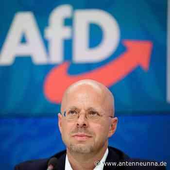 Kalbitz lässt Fraktionsvorsitz ruhen - bei vollen Bezügen - Antenne Unna