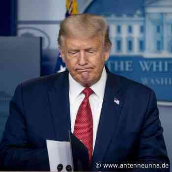 Schüsse vor Weißem Haus: Trump unterbricht Pressekonferenz - Antenne Unna