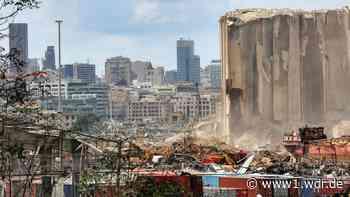 I.S.A.R.-Helfer aus Beirut zurück