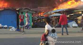 Fire razes Ariaria Aba Market – The Sun Nigeria - Daily Sun
