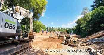 Neuer Staukanal quer durch Illingen - Saarbrücker Zeitung