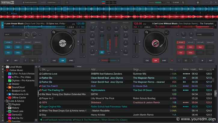 Virtual DJ announces extra updates to brand new version that improves quality of its real time track separation technology