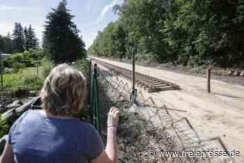 Bahntrasse gen Aue: Streit um Lärmschutz - Freie Presse