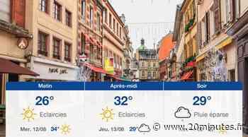 Météo Mulhouse: Prévisions du mardi 11 août 2020 - 20minutes.fr
