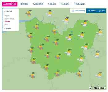 La météo de ce lundi 10 août 2020 à Pont-Audemer - actu.fr