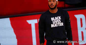 Carmelo Anthony Calls Push for Social Justice a 'Lifelong Fight'