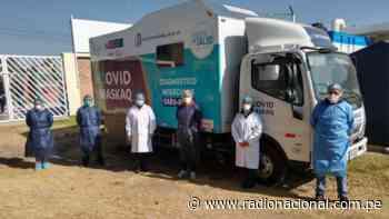 Covid-19: Laboratorio móvil procesa pruebas moleculares de Junín y Huancavelica - Radio Nacional del Perú