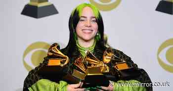 Billie Eilish's humble beginnings as mum says she recorded Bond theme in bedroom - Mirror Online