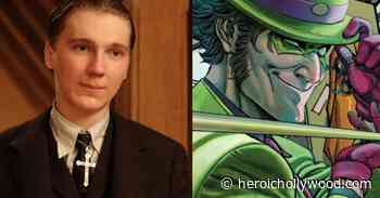 See Paul Dano As The Riddler For Robert Pattinson's 'The Batman' - Heroic Hollywood