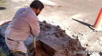 Reparó JMAS fuga de agua en Camino Viejo a San José - Puente Libre La Noticia Digital