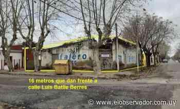 Rematan local de 430 m² en San José - El Observador