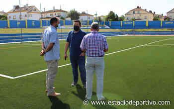 Recta final en las obras del Estadio San José de Gines - estadiodeportivo.com