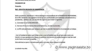 """Para San José """"Conmebol no reconoció a Rodríguez"""" y pide reunión urgente del G8 - Diario Pagina Siete"""