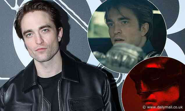 Robert Pattinson reveals he had to LIE about a 'family emergency' to audition for Batman - Daily Mail