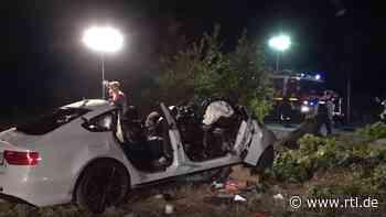 Potsdam: Nico V. (†22) setzte sich wütend ins Auto und raste gegen einen Baum - RTL Online