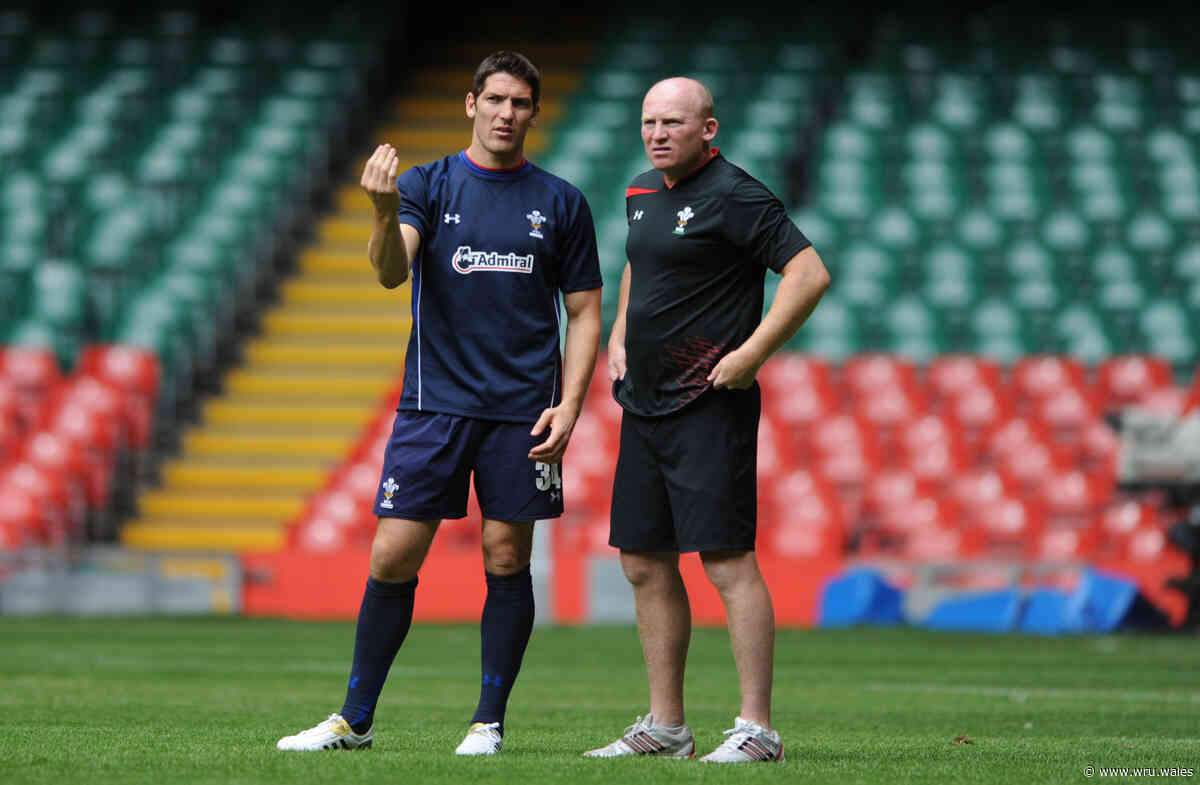 Hook aims to follow Jenkins' lead - Welsh Rugby Union