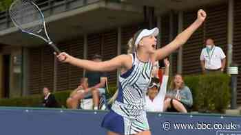 Murray & Broady win with 'most remarkable' match point - BBC Sport