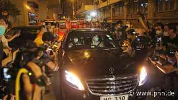 Verleger Jimmy Lai in Hongkong gegen Kaution wieder frei - Potsdamer Neueste Nachrichten