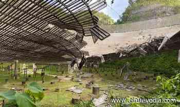 Cable de soporte causa daños al plato del Observatorio de Arecibo - El Nuevo Dia.com
