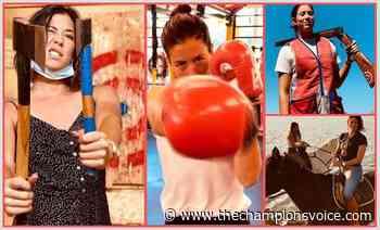 Garbiñe Muguruza: lanzamiento de hacha, tiro al plato y boxeo para seguir ofreciendo su mejor tenis - The Champions Voice