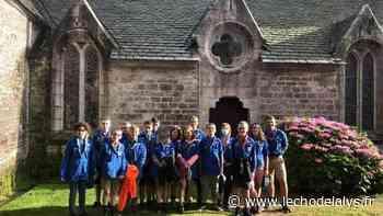 Les scouts d'Aire-sur-la-Lys profitent de l'été - L'Écho de la Lys