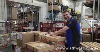 Michael Koch arbeitet seit zehn Jahren bei Layer-Großhandel in Tettnang - Schwäbische