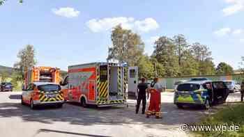 Kreuztal: Feuerwehrleute retten Mann aus Freibad Krombach - Westfalenpost