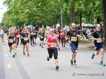 Laufen nach Corona-Regeln beim VCM Pop-up-Run in Wien - VIENNA.AT