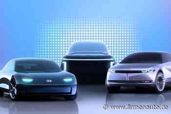 Hyundai gründet neue Marke: E-Autos laufen unter Ionic - Firmenauto