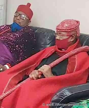 Abuja Bribe Money: Prince Dr Austin Ndigwe, Uzu Awka Breaks rank with Prince Arthur Eze and Renegade Igwes (ph - The Nigerian Voice