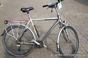 POL-KLE: Geldern - Vermutlich gestohlenes Fahrrad sichergestellt: Wem gehört es? - Presseportal.de