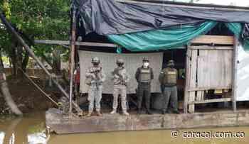 Incautan draga presuntamente usada por el Clan del Golfo en Achí, Bolívar - Caracol Radio